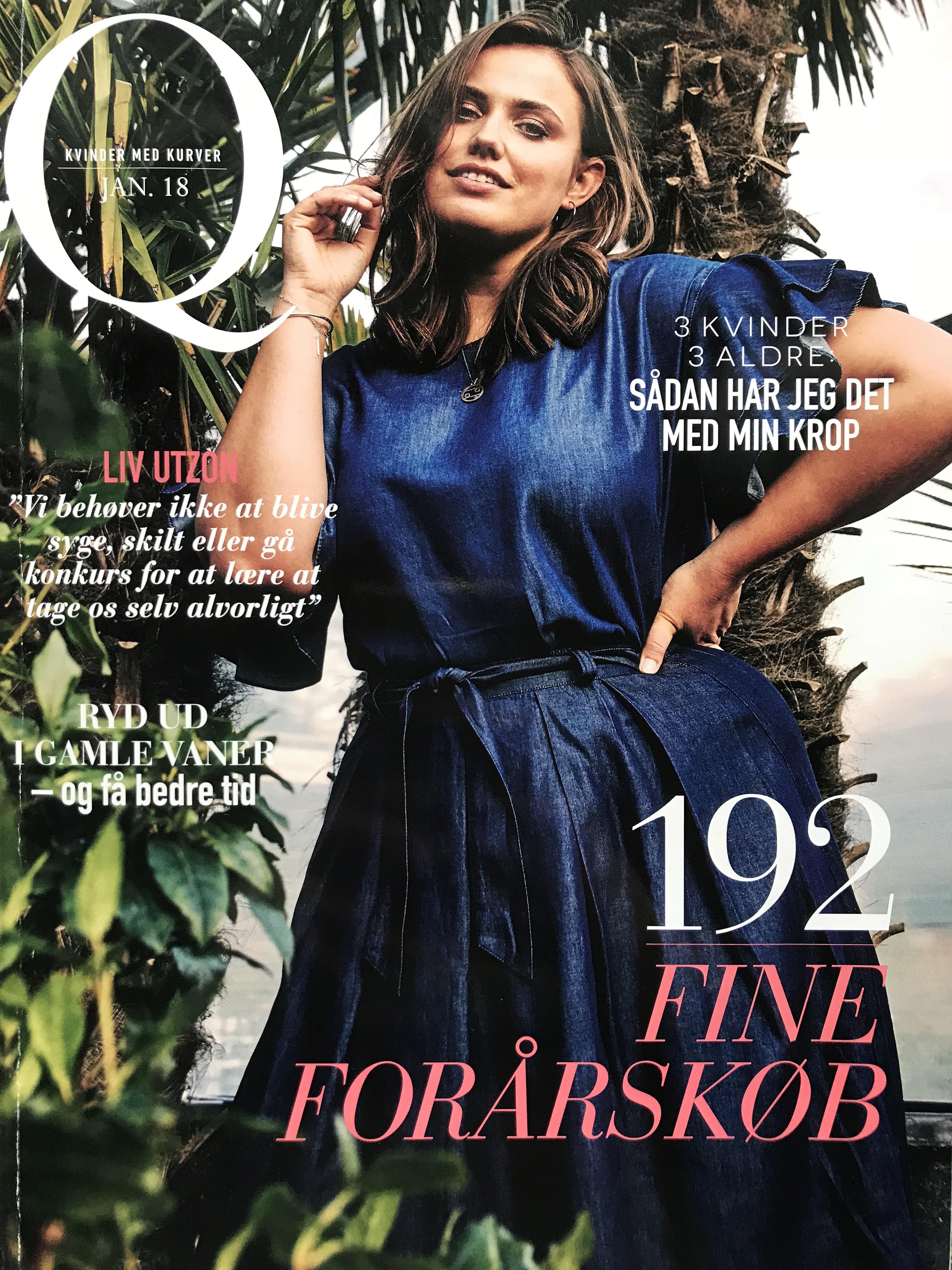forside af Q magasin januar 2018