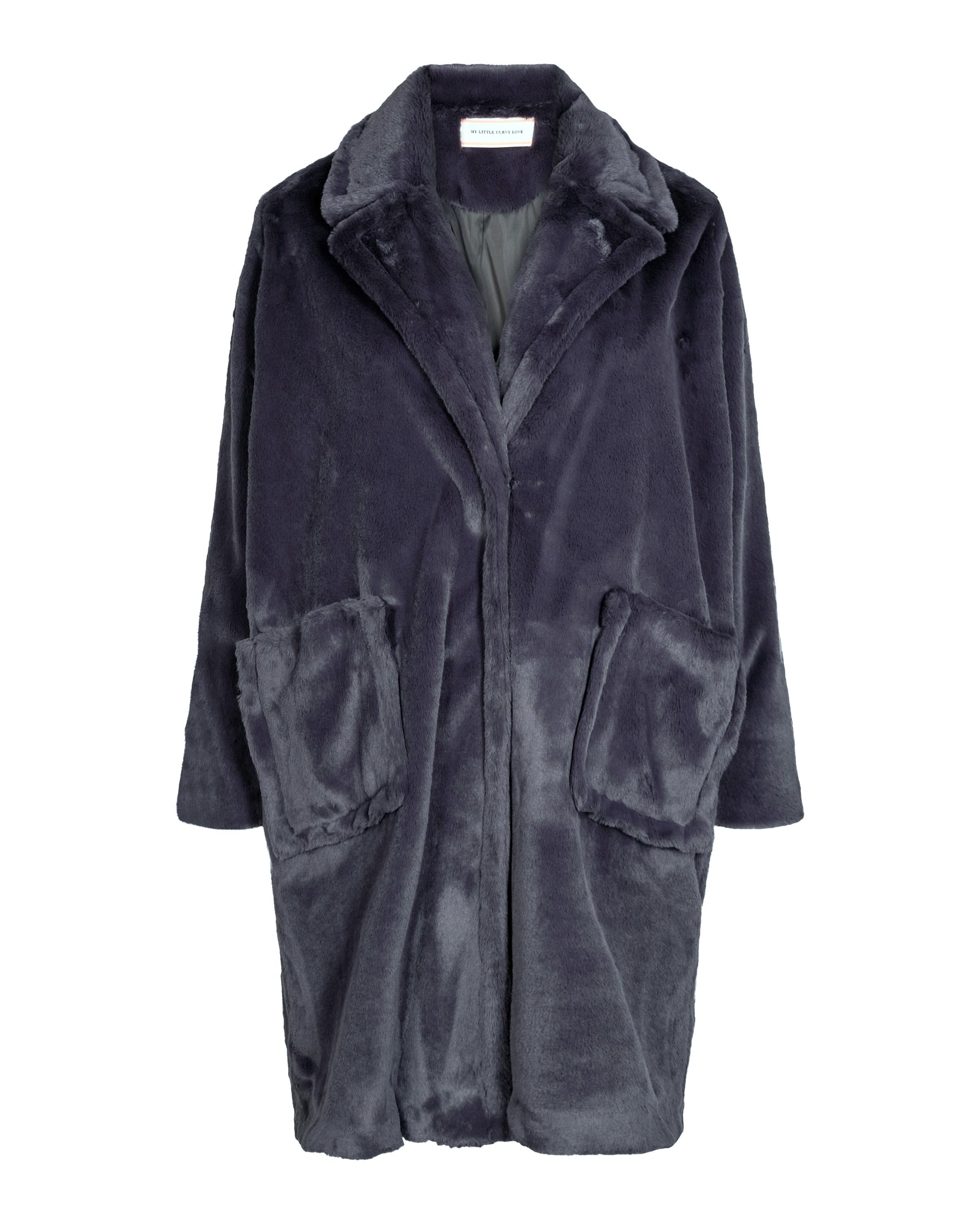 Fake fur jakke 178 1067